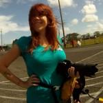 Linda at Blue Hawaiian Helicopters