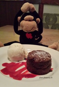 The sinful chocolate soufflé .... I still dream about it!